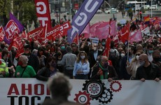 Thousands gather in European cities to mark May Day for the first time since the pandemic began