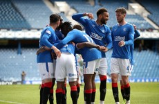 Rangers hand Celtic 4-1 mauling in Scott Brown's final Old Firm clash