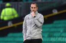 John Kennedy blames referee over red card after Celtic well beaten