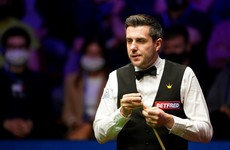 Mark Selby takes control in World Championship final