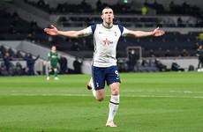 Brilliant Bale hat-trick helps keep Tottenham's Champions League hopes alive