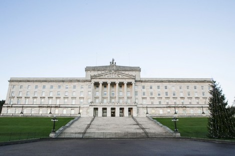 File image of Parliament Buildings at Stormont, Belfast.