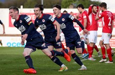 Late drama as St Pat's clinch point against Sligo Rovers with 95th minute header