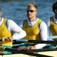 Australian rower Booth arrested, then faints and bangs his head