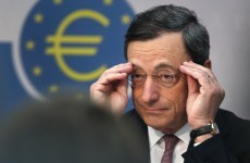 Draghi: 'The euro is irreversible – but it's up to politicians to act'