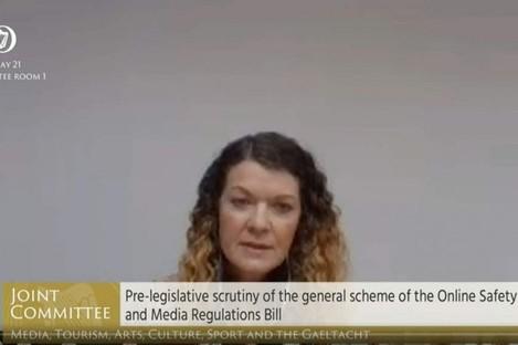 Deputy Data Protection Commissioner Anna Morgan.