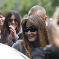 Controversial Carla Bruni statue erected in Paris