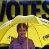 Nicola Sturgeon calls ex-deputy leader of Britain First 'racist' in tense confrontation