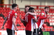 Akintunde spares Derry's blushes with stoppage-time equaliser against Longford
