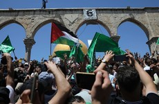 Dozens hurt as Palestinians and Israeli police clash at Al-Aqsa Mosque