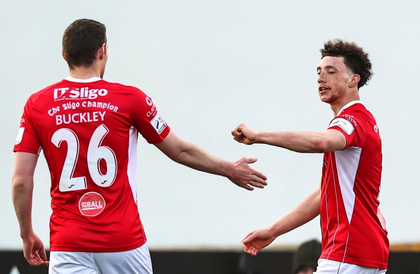 Dundalk slip to defeat against 10-man Sligo Rovers · The42