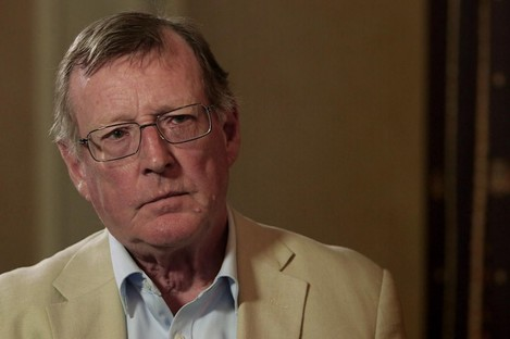 David Trimble, among others, has signed an open letter calling for the suspension of the Northern Ireland protocol. File photo.
