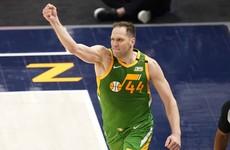 Bogdanovic's career-high 48 points pushes Utah Jazz past Denver Nuggets