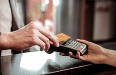 Almost €10 billion worth of contactless payments made over the past year