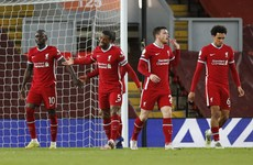 Thiago scores first goal in English football as Liverpool keep top-four hopes alive