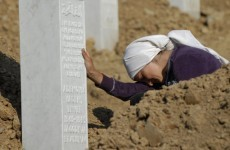 Srebrenica grave exhumed at former UN base