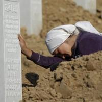 Srebrenica grave exhumed at former UN base
