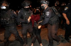 Scores injured in fresh night of Jerusalem protests
