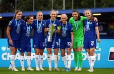 Chelsea thrash Reading to retain Women's Super League title