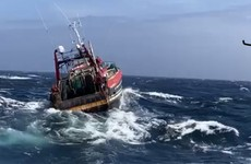 Fishing vessel caught in difficulty off coast of Kinsale rescued this afternoon