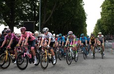 Roche and Martin in action again as Ganna holds leader's jersey at Giro d'Italia