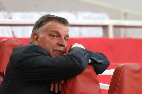 West Brom manager Sam Allardyce.