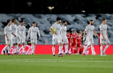 Real Madrid salvage draw with late equaliser as league title chances swing back to Atletico