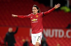 Cavani signs one-year contract extension with Man Utd