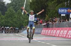 'Is this real?' - Dutch rookie Van der Hoorn clings on for Giro win