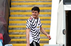Harry Maguire in race to be fit for Europa League final after suffering ankle ligament damage