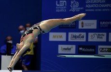 Irish diver Clare Cryan finishes eighth at European Championships