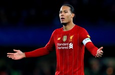Van Dijk rules himself out of Euros to focus on being fit for Liverpool's pre-season