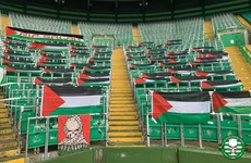 Celtic remove Palestinian flags from stadium after accusing fans of exploiting Scott Brown tribute