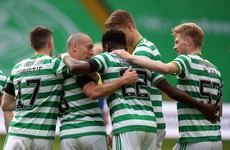 Brown's final home game as Celtic hammer St Johnstone and Rangers thrash Livingston