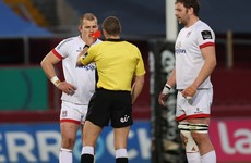 Addison's Ulster season over as he receives four-match ban for red-card challenge on Daly