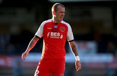 Veteran Irish midfielder Glenn Whelan released by Fleetwood Town