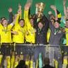 Haaland, Sancho score two each as Dortmund triumph in German Cup final