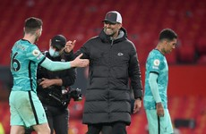 Jurgen Klopp delighted with timely end to wait for Old Trafford victory