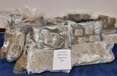 Man arrested after cannabis worth €300,000 seized in Dublin