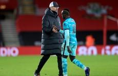 'We will talk about it' - Klopp plays down Mane's handshake refusal