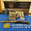 Two men arrested after cash, weapons and €40k of suspected drugs seized in Co Clare