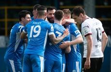McNamee-inspired Finn Harps hold firm to deny Dundalk winner as points shared in Ballybofey