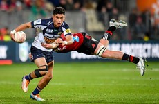 Crusaders escape as Brumbies miss last-chance conversion
