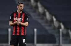 Sweden striker Zlatan Ibrahimovic to miss Euro 2020