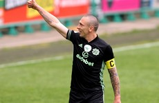 Brown bids farewell to Celtic in stalemate with Hibernian