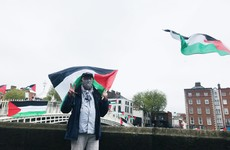 Peaceful protests in solidarity with Palestine are taking place across the country this afternoon