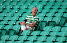 Brown takes parting shot at Rangers and tells Celtic fans to 'stick with the lads'