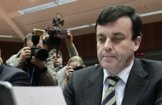 Brian Lenihan voted worst finance minister in Europe