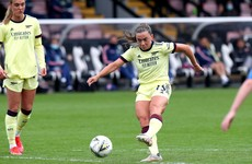 Katie McCabe on target as Joe Montemurro's Arsenal reign ends with 9-0 win