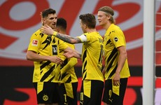Dortmund secure Champions League spot with sixth-straight Bundesliga win